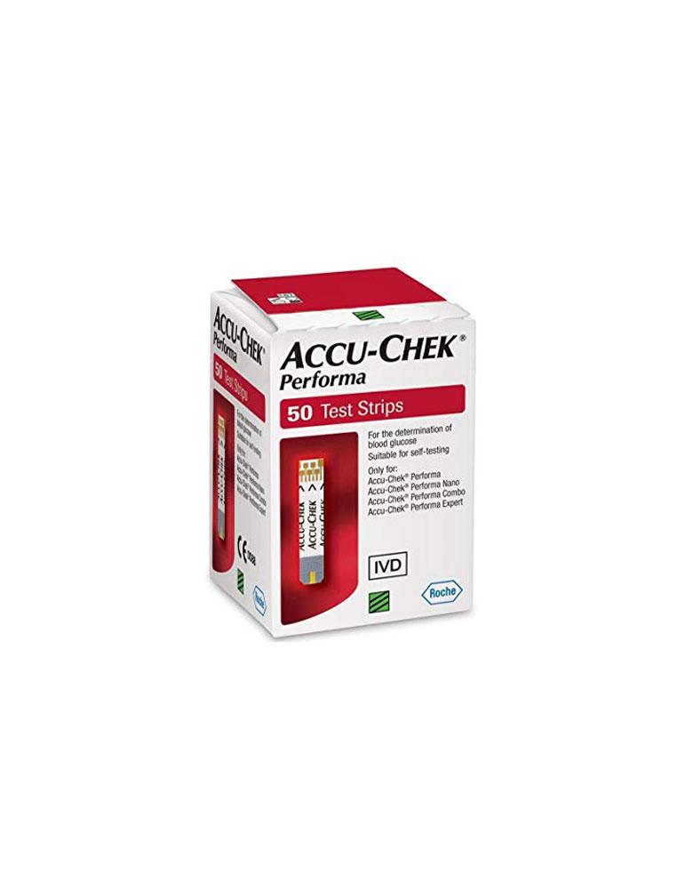 Accu Check Performa 50 teste